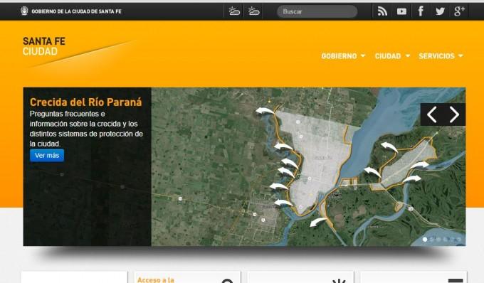 Crecida del Paraná: nuevo sitio de información y consultas