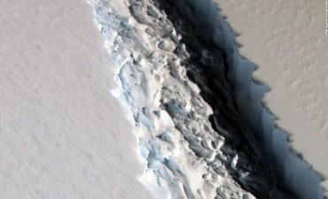 Un iceberg del tamaño de Trinidad y Tobago se separará pronto de la Antártida
