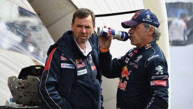 Sanción de diez minutos para Sainz en el Dakar