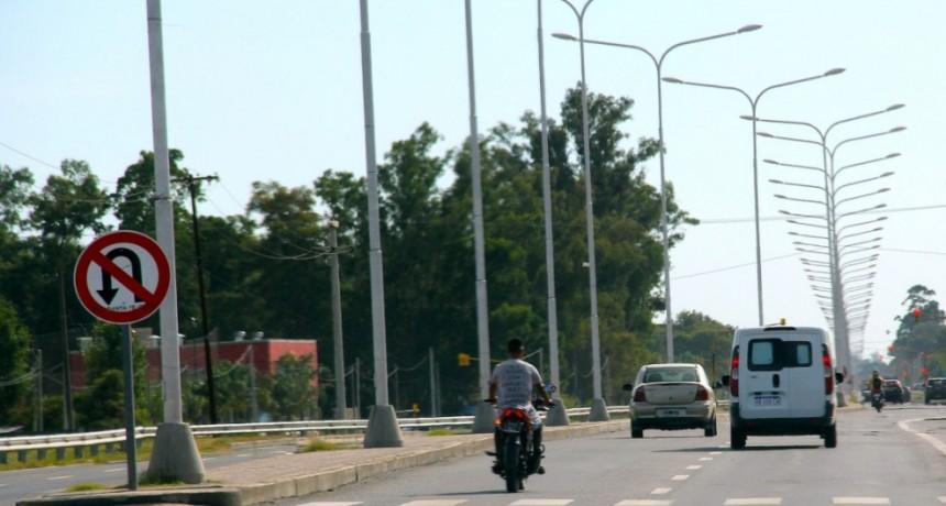 Ruta 1: las colectoras de la autovía serán de hormigón