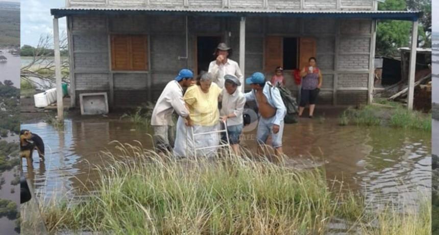 Intensas lluvias siguen sin dar respiro al departamento Nueve de Julio.
