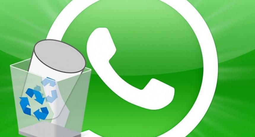 ¿WhatsApp está borrando mensajes sin previo aviso?