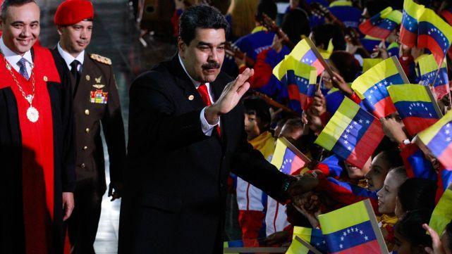 Maduro destrozó a Macri y llamó a Bolsonaro el