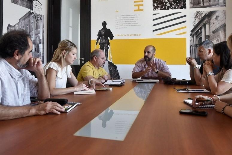 Se acordó el operativo municipal para el Festival de Guadalupe