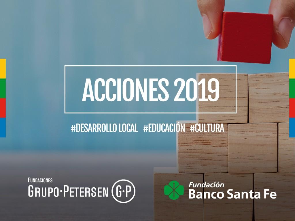 Fundación Banco Santa Fe presentó el balance de sus logros durante el 2019
