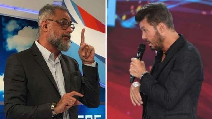 Jorge Rial y Marcelo Tinelli piden pista para hacer otras cosas