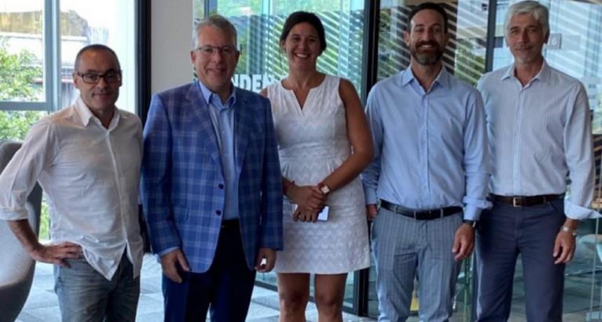 El Ministro de Trabajo se reunió con empresas que buscan aumentar la inversión e incorporar trabajadores en Santa Fe