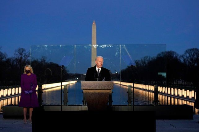 Jura Biden en un acto sin público ni desfile y con una Washington blindada