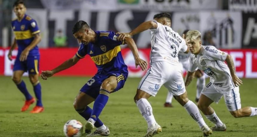 Boca perdió ante Santos y quedó afuera de la final por la Copa Libertadores