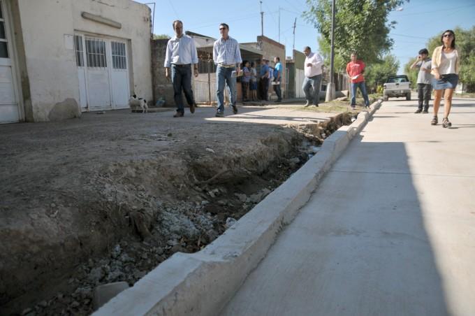 Plan Norte: obras de pavimento, desagües e iluminación transforman a barrio Liceo Norte