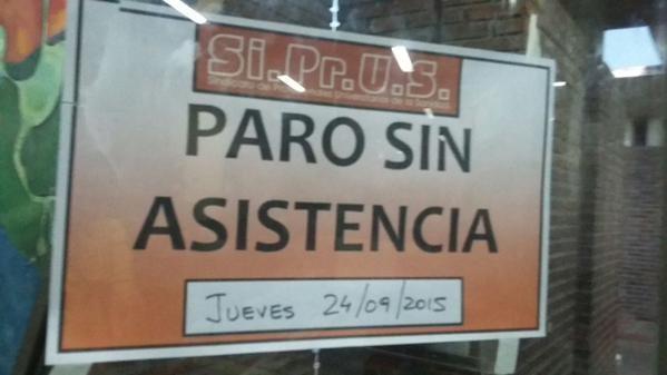SiPrUS rechaza la propuesta del 26% del gobierno y anuncia un paro provincial