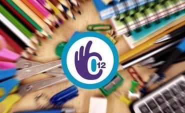 Desde hoy se puede comprar los útiles escolares con el programa