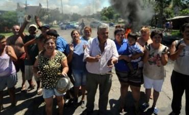 """Para la Municipalidad """"la policía facilita  los cortes en la ruta"""""""