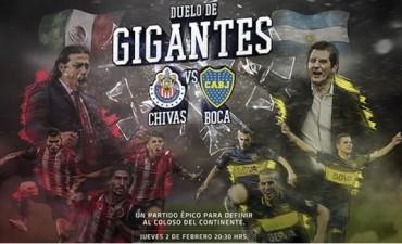 Chivas y Boca Juniors se enfrentan en el
