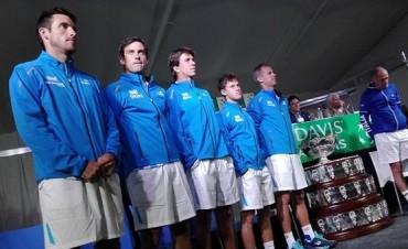 Copa Davis: Argentina inicia la defensa del título frente a Italia