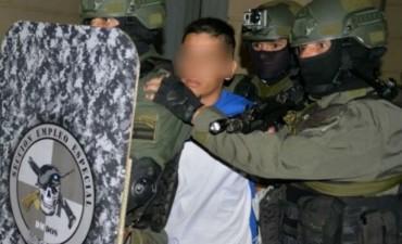 Gendarmería apresó a un sicario y narcotraficante de Rosario