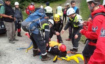 Seis turistas rescatados en Ushuaia