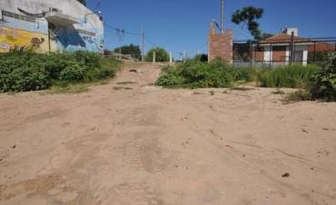 Bloquearon una bajada a Playa Norte