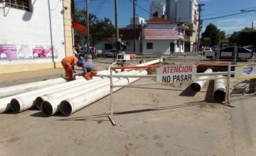 Trabajos de ASSA en Mariano Comas y Urquiza