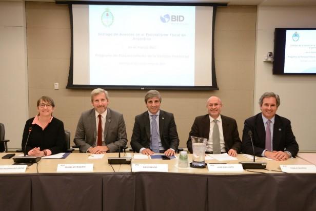 Nación firmó un acuerdo con el BID por 120 millones de dólares para el desarrollo de las provincias