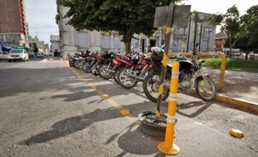 El Municipio realizó nueva demarcación en estacionamiento