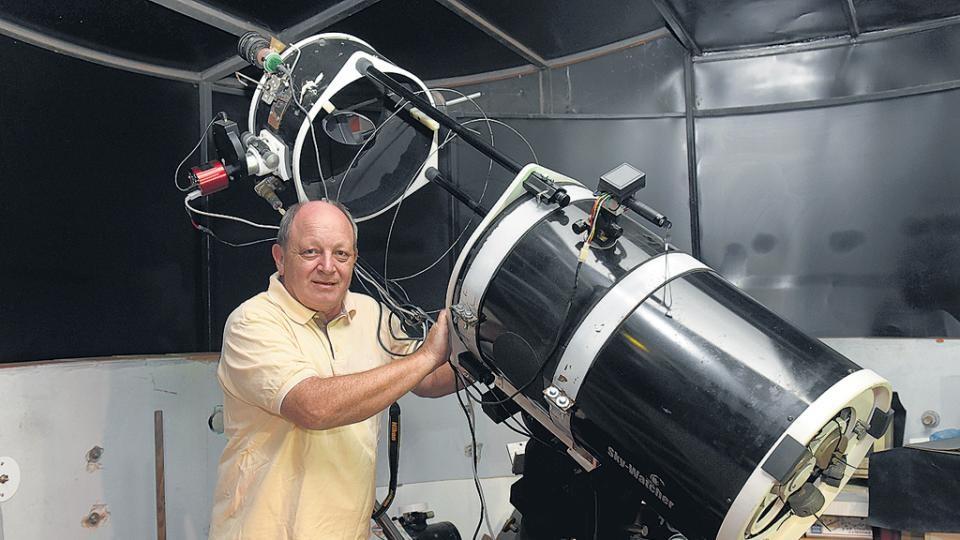 Un Santafesino detectó por primera vez en la historia la explosión de una supernova