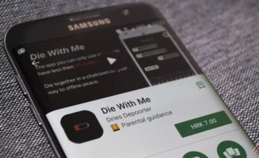 Muere Conmigo: La app a la que solo podés acceder con 5% de batería