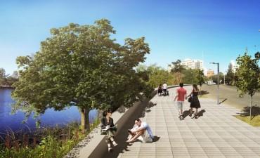 Presentaron el proyecto de renovación del Parque del Sur