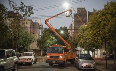 En 2018, el Municipio colocará 3435 lámparas led en la Ciudad