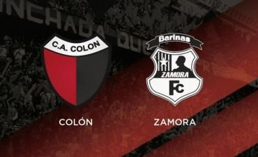 Comenzó la venta de entradas para Colón – Zamora