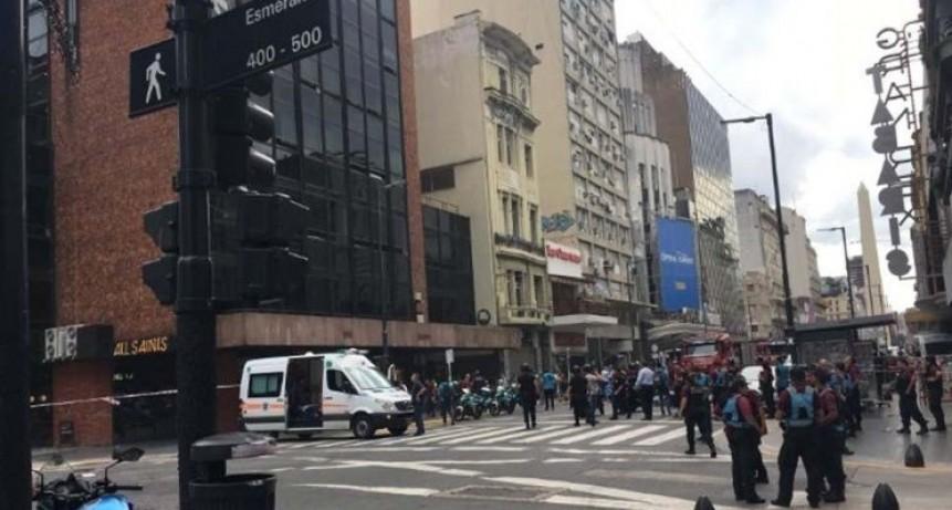 Se incendió un hotel en pleno centro porteño