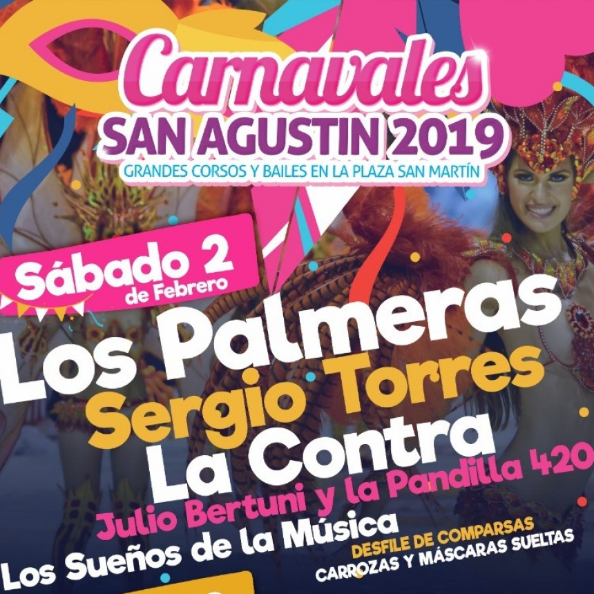 Comienzan los carnavales en San Agustín