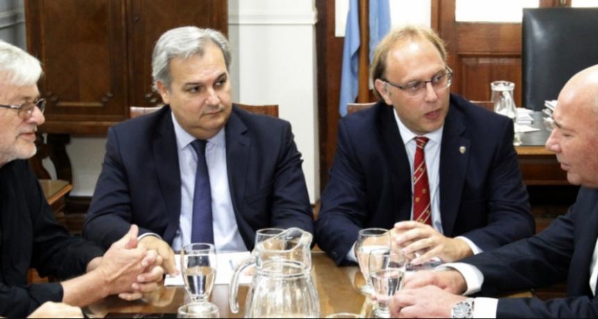 Paritarias 2019: Provincia se reunió con UPCN y ATE