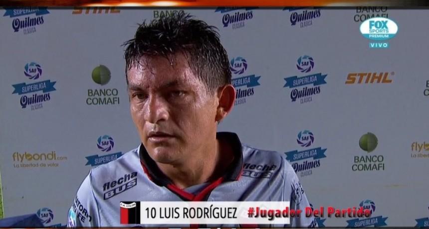 Se lesionó la figura de Colón: desgarro para Luis Rodríguez