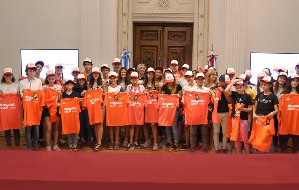 La provincia reconoció a deportistas santafesinos convocados al Campus YOG Dakar 2022