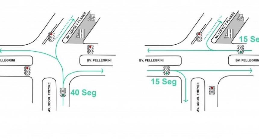 Se habilitó el tránsito en todos los sentidos en Avenida Freyre y Bulevard