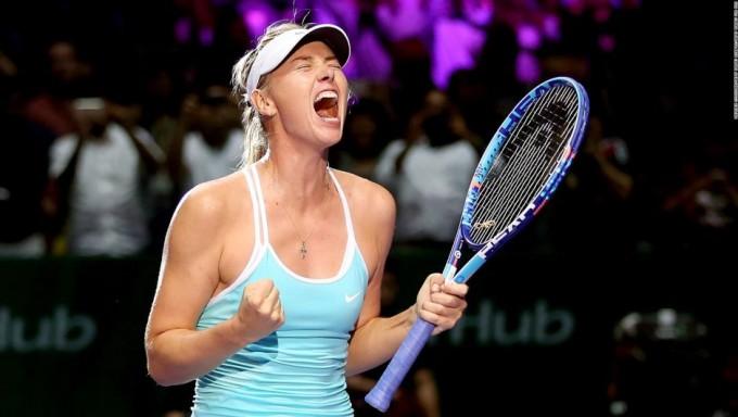 La tenista Maria Sharapova anuncia que dio positivo en un control antidopaje