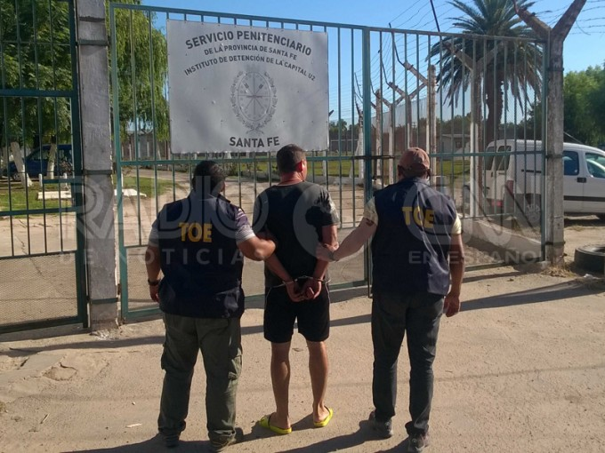TOE detuvo a un hombre evadido de la cárcel de Las Flores