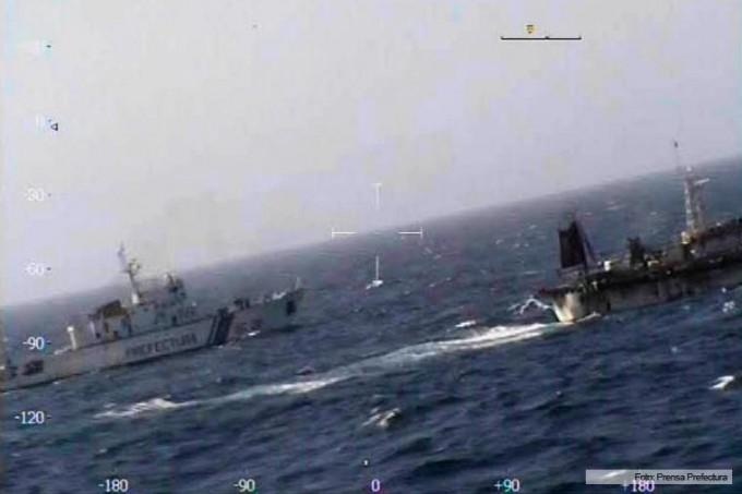 China expresó preocupación por el hundimiento del pesquero en Chubut