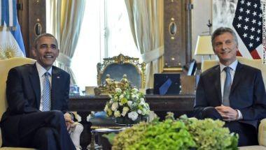Las frases de Mauricio Macri en la conferencia con Barack Obama