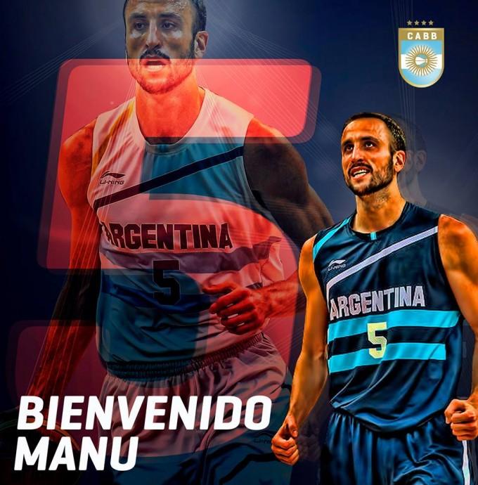 Confirmado: Manu Ginóbili estará en los Juegos Olímpicos de Río