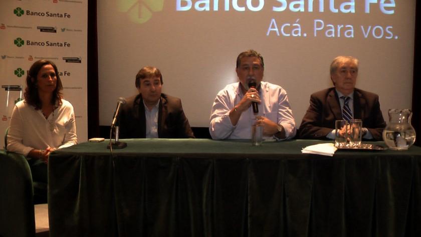 El Banco Santa Fe reunió a productores y empresarios en jornadas informativas