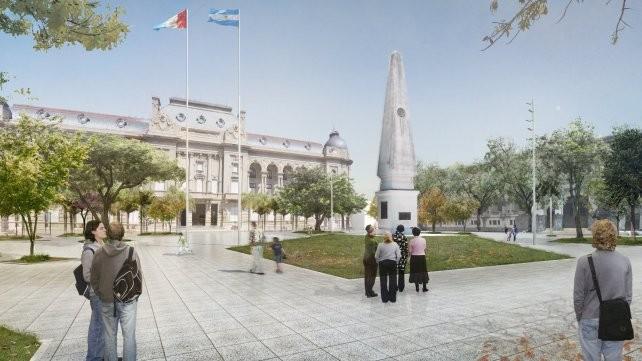La provincia invertirá más de 55 millones de pesos para remodelar plaza 25 de Mayo