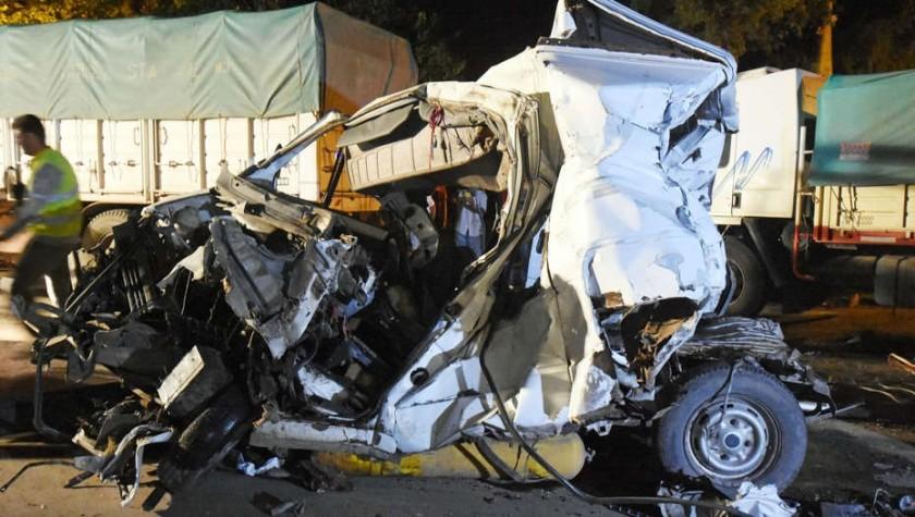 Murieron dos nenes en un triple choque sobre la Autopista Santa Fe - Rosario