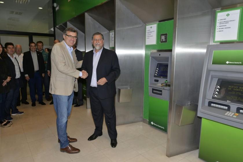 Fuerte inversión tecnológica del Banco Santa Fe en Venado Tuerto