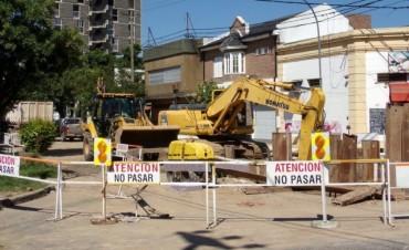 Repararon la cañería cloacal en Mariano Comas y Urquiza