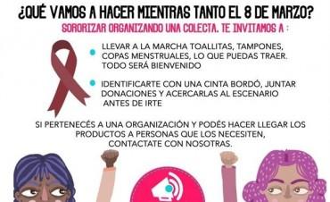 La #MenstruAcción, el nuevo reclamo que busca sumarse al paro del 8M