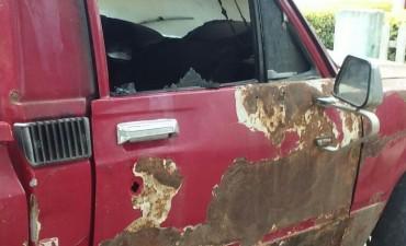 Quemacoches atacaron en Santo Tomé