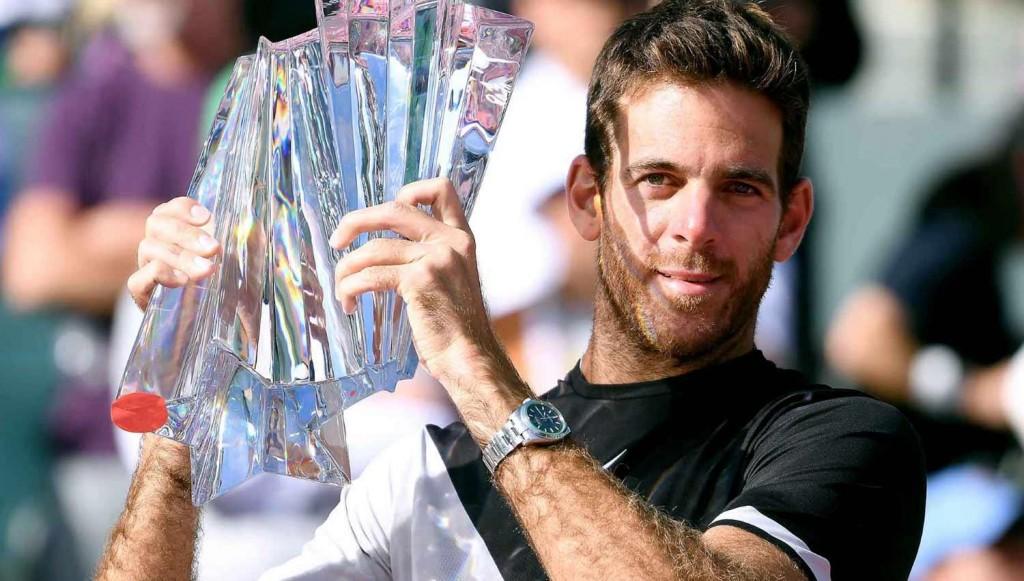 Del Potro venció a Federer y conquistó Indian Wells