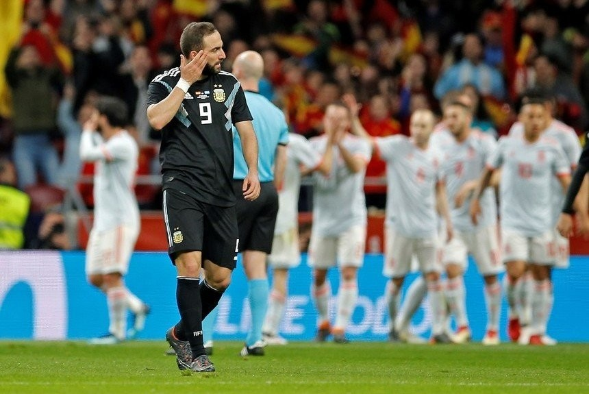 Argentina recibió una paliza en Madrid